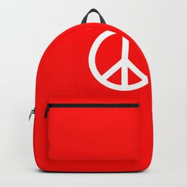Sketch Peace Sign Backpack