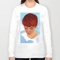 ginger Long Sleeve T-shirts featuring Ginger by Adelys