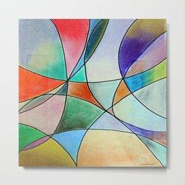 Pastel Abstract 1 Metal Print