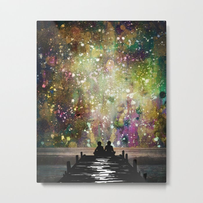 The Universe Was Ours Metal Print