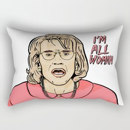 All Woman Rectangular Pillow