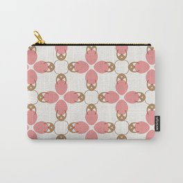 Vivan pink chains pattern Carry-All Pouch
