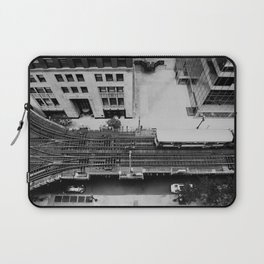 looking down on the tracks ... Laptop Sleeve