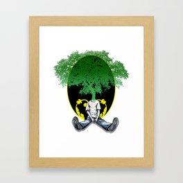 Tree Head Framed Art Print