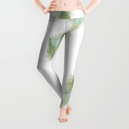 Wanderlusting Feather Leggings