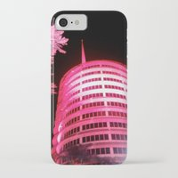 records iPhone & iPod Cases featuring Capitol Records by Jerel Cardona