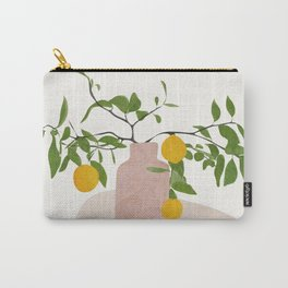 Lemon Branches Carry-All Pouch