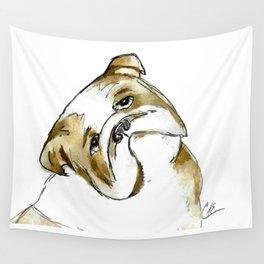 Bulldog Wall Tapestry