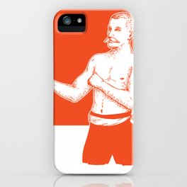 Bare Knuckle Boxer iPhone Case