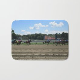 Stride to the Finish Bath Mat