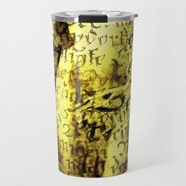 Nude Art Collage Travel Mug