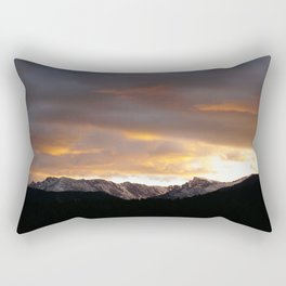 Sunset on Trail Ridge 3 Rectangular Pillow