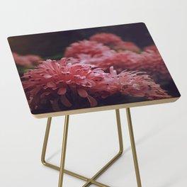 Pink Bellingrath Floral Side Table