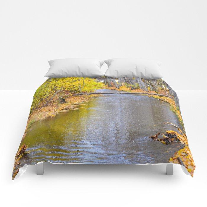 Autumn Stream II Comforters