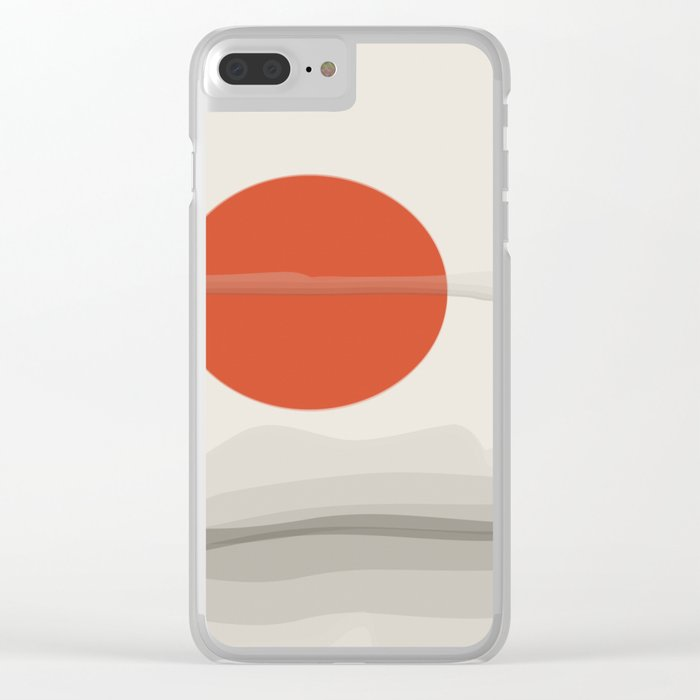 On Mars Clear iPhone Case