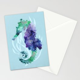 Mystical Seahorse Stationery Cards