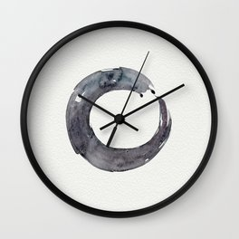 Enso Serenity No.12 by Kathy Morton Stanion Wall Clock