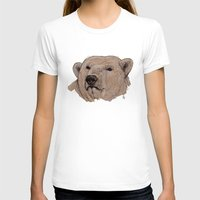 polar bear T-shirts featuring Polar Bear by Ursula Rodgers