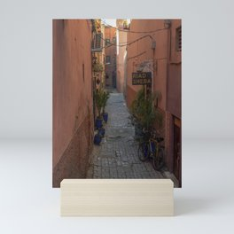 To the Riad (Marrakech) Mini Art Print