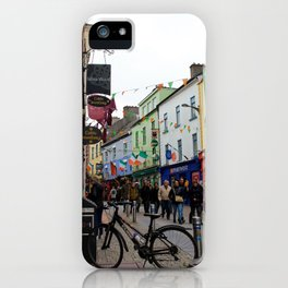 Galway Streets iPhone Case