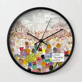 Washington DC March 2017 Wall Clock