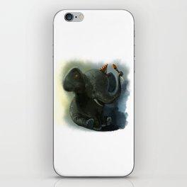 Painting Elephant iPhone Skin