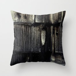 Charred Throw Pillow