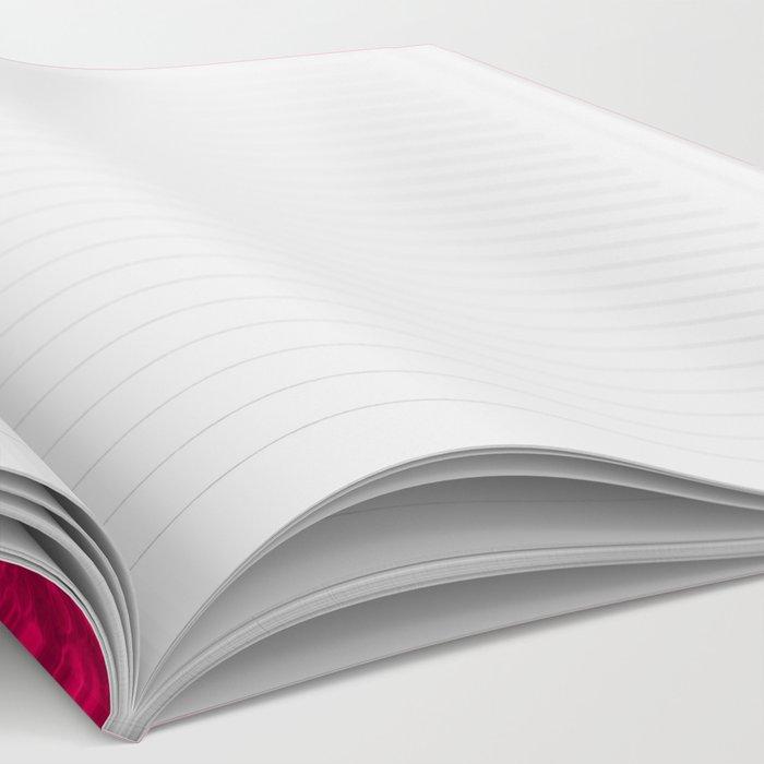 Bright Pink Glitter Notebook