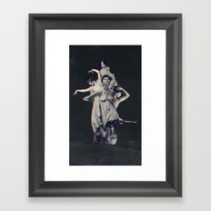 Mightier than the sword  Framed Art Print