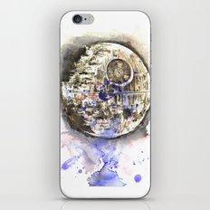 Star War Art Painting The Death Star iPhone & iPod Skin