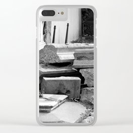 old graves Clear iPhone Case