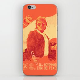 He who will fix it all iPhone Skin
