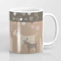 labrador Mugs featuring Labrador dogs by My Studio