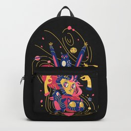 Rabbit girl and other animals Backpack