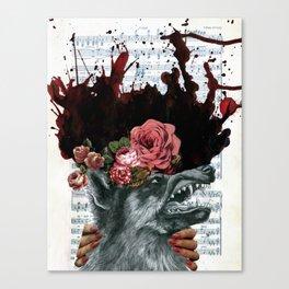 Unwelcome Advances Canvas Print