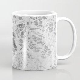 The Waves (Black and White) Coffee Mug