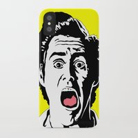 ace attorney iPhone & iPod Cases featuring Ace by Gary Barling