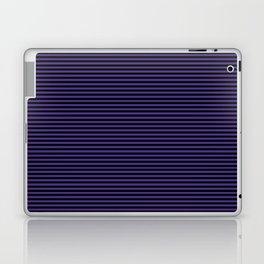 Gothic purple stripes Laptop & iPad Skin