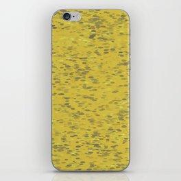 Dots Ochre iPhone Skin