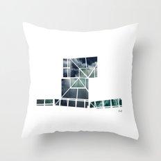 SKY GEOMETRY Throw Pillow