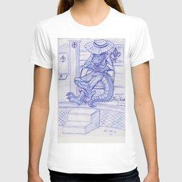 The Cajun Gator_Chillaxing T-shirt