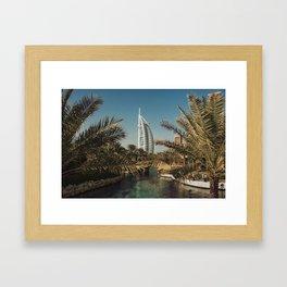 Burj Al Arab - Dubai Framed Art Print