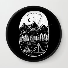 Let's Get Lost III Wall Clock