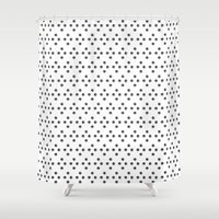 polka Shower Curtains featuring POLKA by Se´scoso