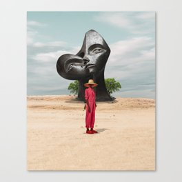 Abstract Scenery Fashion Culture Canvas Print