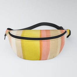 Preppie Stack 02: Abstract Minimalist Watercolor Fanny Pack