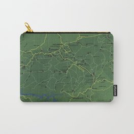 The Great Smoky Mountains National Park Map (1971) Carry-All Pouch