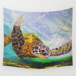 For the love of Michael Angelo Wall Tapestry