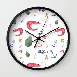 Beach fun Wall Clock
