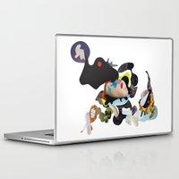 rhino Laptop & iPad Skins featuring Rhino by Maria Taari